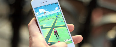Pokemon Go on iPhone