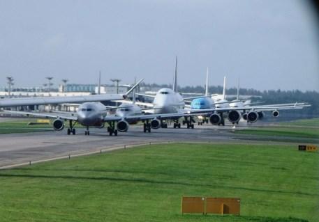 Airport Traffic Jam