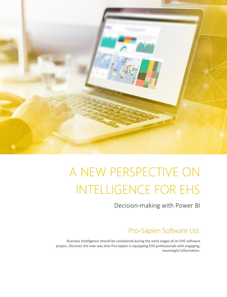 A New Perspective On Intelligence In EHS