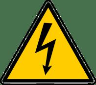 Safety Sign - High Voltage