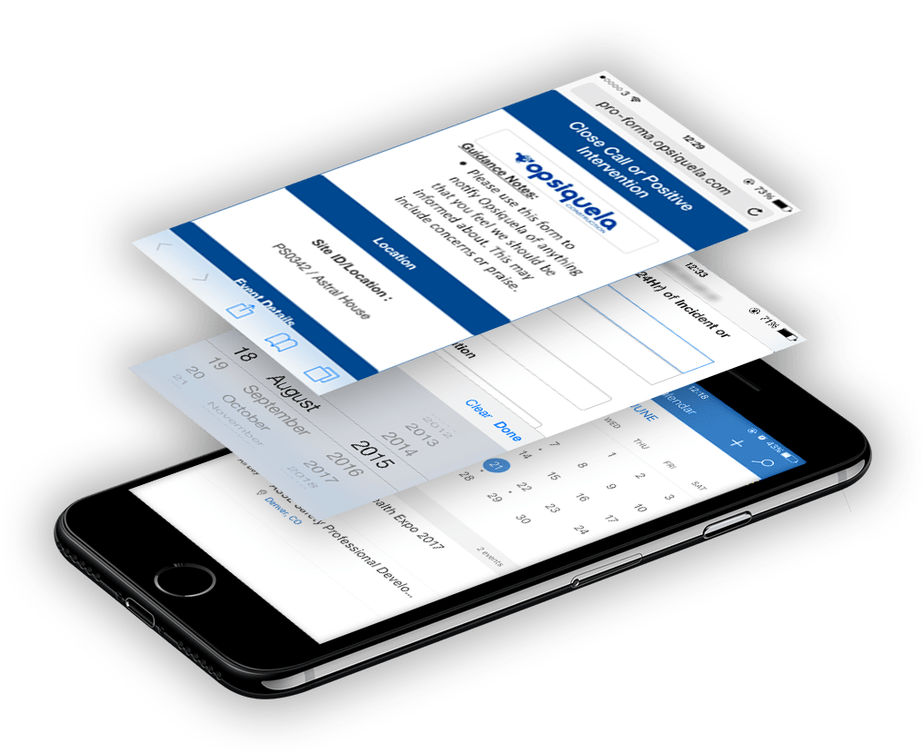 Mobile Forms for EHS