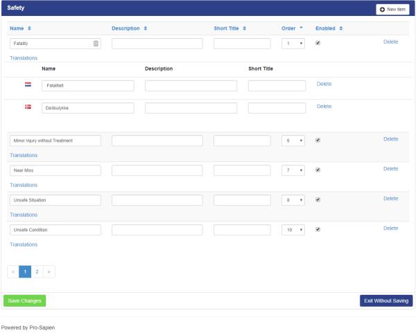 Screenshot - Multilingual Lookup Manager (click for bigger image)