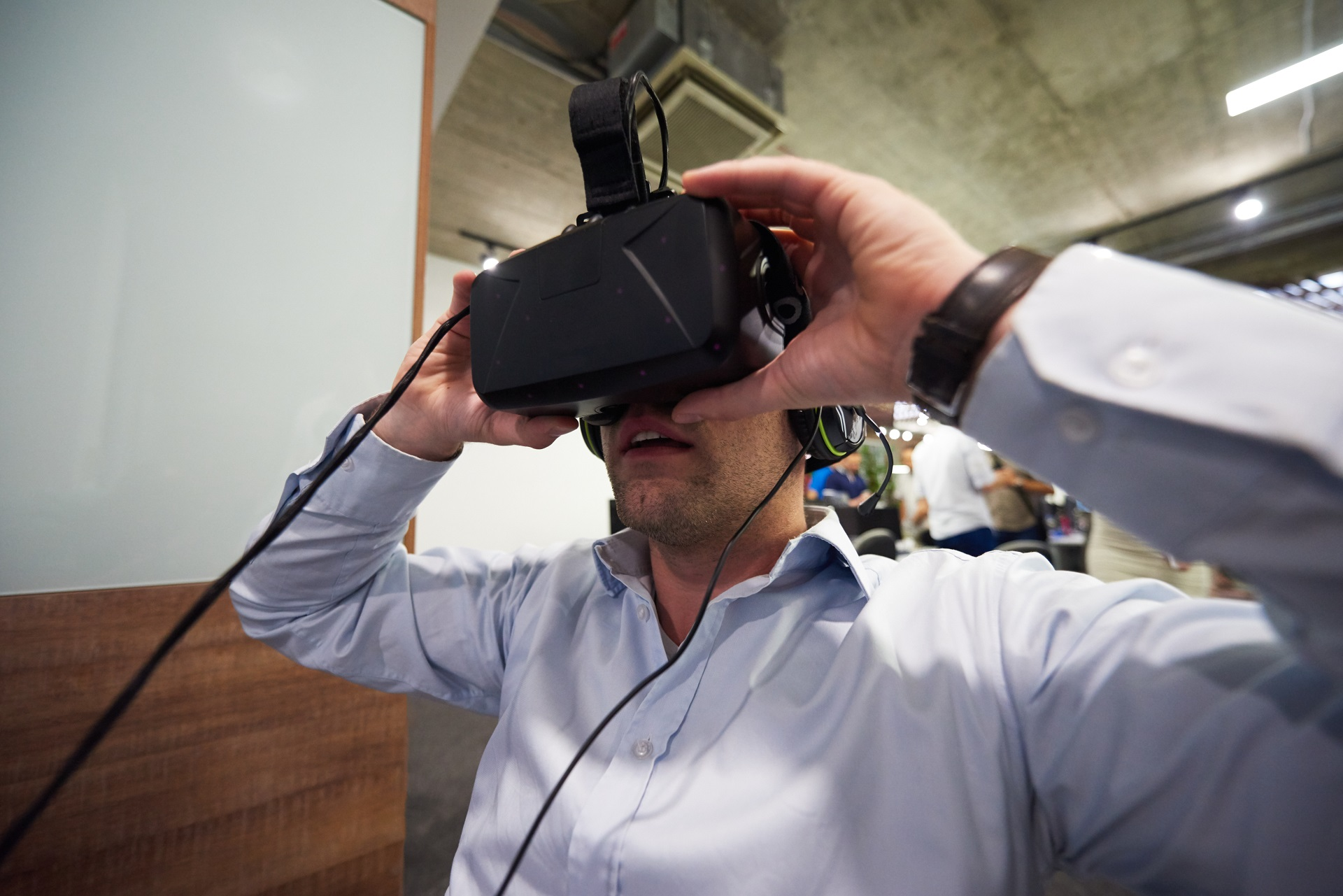 Virtual reality can be a highly engaging tool for safety training