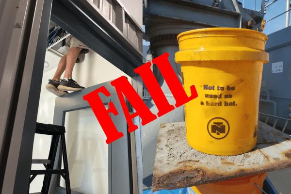 Top 11 OSHA Fails Summer 2019
