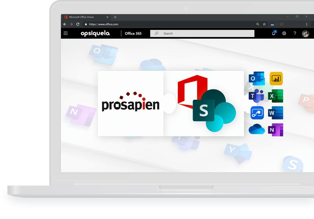 Pro-Sapien is an Office 365 add-in