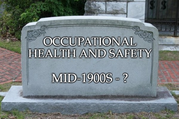 Health and safety automation: Will health and safety ever die?