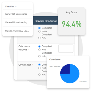 Complete audit or inspections checklists with Pro-Sapien's EHS Audit Software