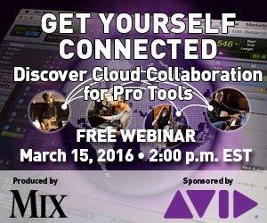 Mix Online Avid Webinar