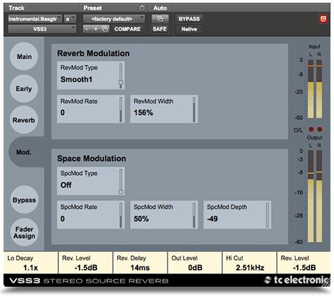 VSS3 Modulation Page