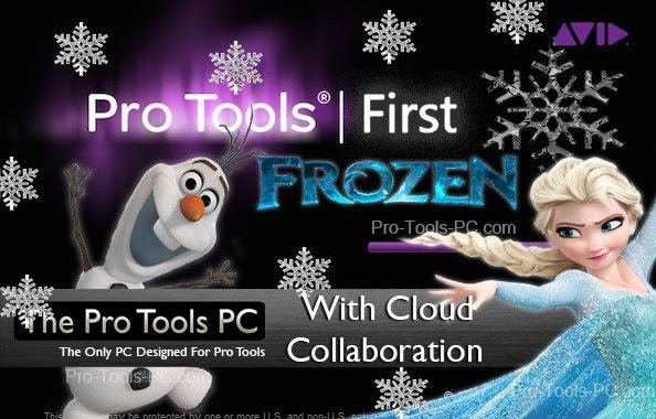 Pro Tools First Cloud Collaboration and Freeze