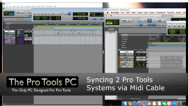 Sync a Mac and PC Pro Tools System