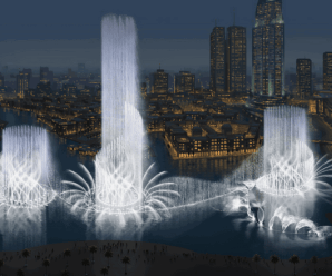 Светомузыкальный фонтан в Дубае – восхитительное трио воды света и музыки