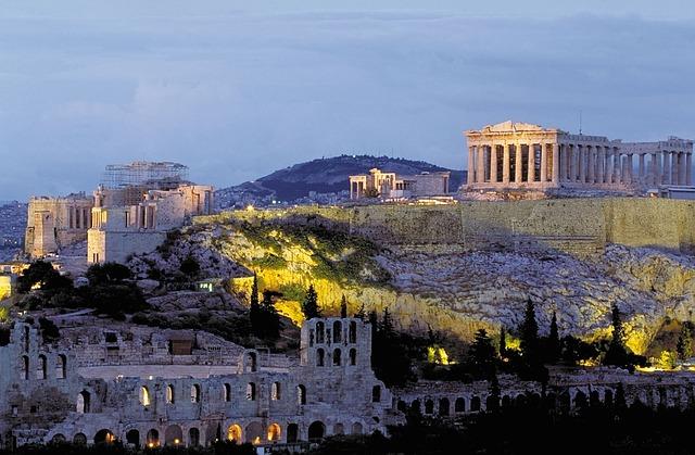 Афинский Акрополь фото описание