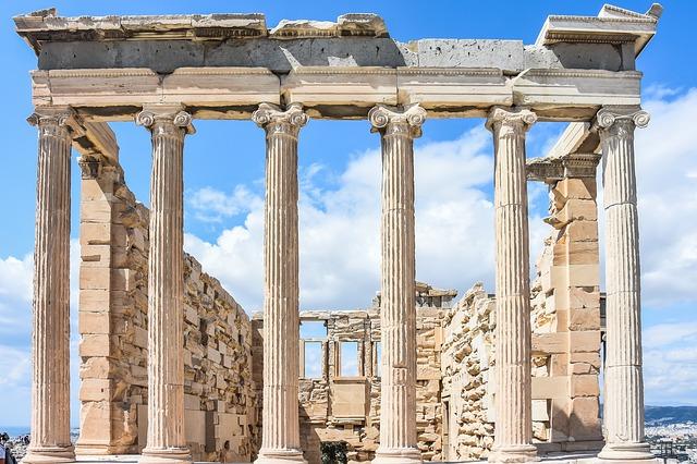 Афинский Акрополь Храм Афины Победительницы