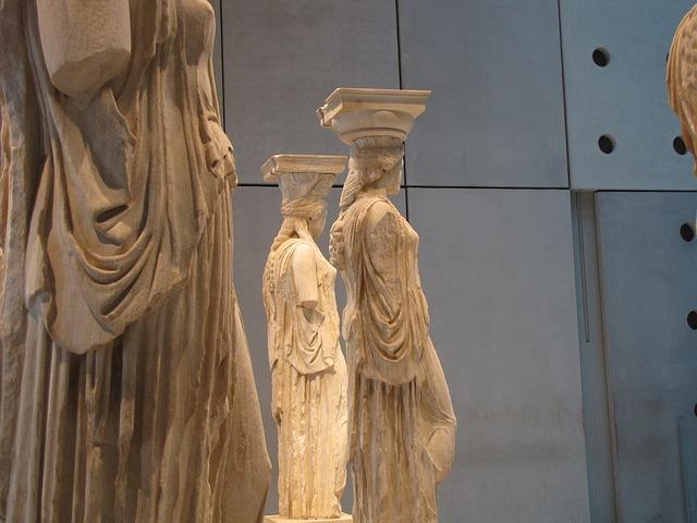 Афинский Акрополь музей