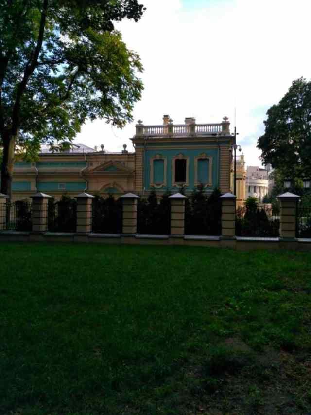 мариинский дворец архитектура