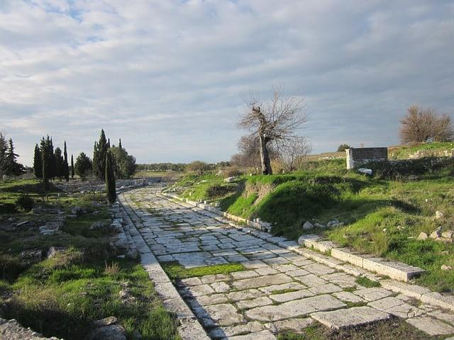 священная дорога в Дидиме