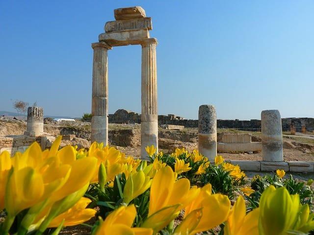 Памуккале город Иерополис