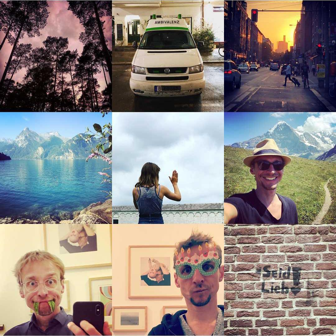 Rückblickend war 2018 für mich ein Jahr der Ambivalenz, eines schönen VW-Bus-Urlaubs und des liebevollen Selfie-Quatsches. Guten Rutsch und auf ein feines neues Jahr