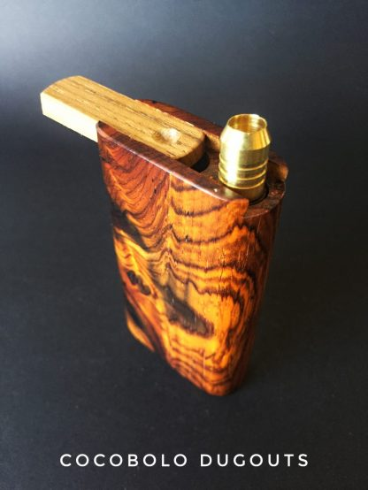 Small Cocobolo Wood Dugout