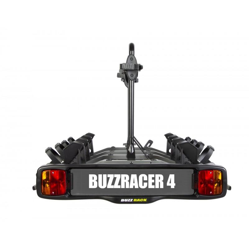 buzzracer 4 porte velo sur attelage plateforme 4 velos