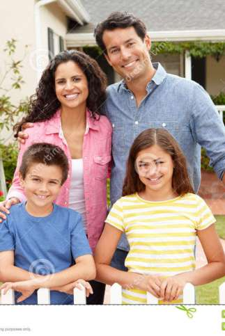 http://www.dreamstime.com/royalty-free-stock-photography-hispanic-family-standing-outside-home-image21156457