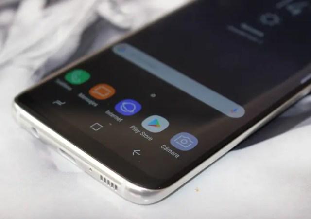pantalla roja del Galaxy℗ S8