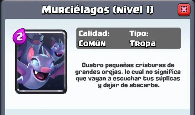 Nueva carta de Clash Royale