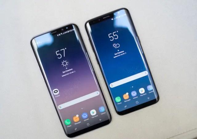 Galaxy S8 vs Galaxy S8 +