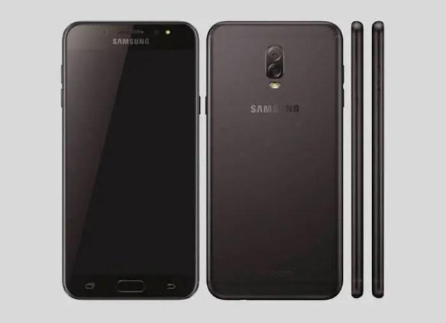 Galaxy j7+ negro
