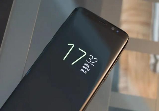Samsung Galaxy℗ s8 always on