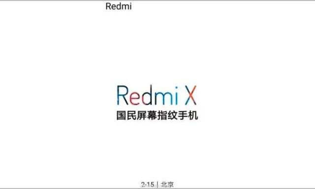 Redmi X presentación