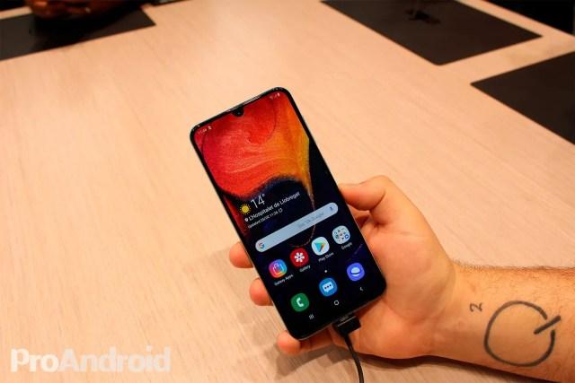 Samsung Galaxy℗ A50 pantalla