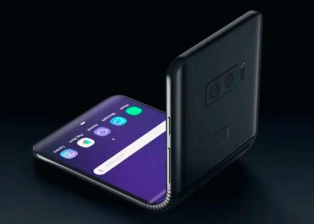 Samsung plegable tipo concha
