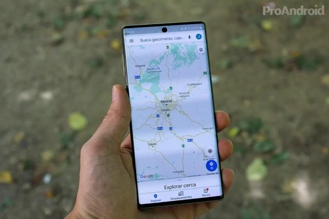 Google Maps Samsung℗ Galaxy℗ Note 10