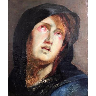 tableau portrait sur proantic 17eme