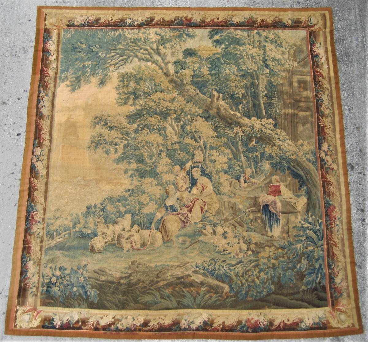 tapisserie d aubusson les lavandieres