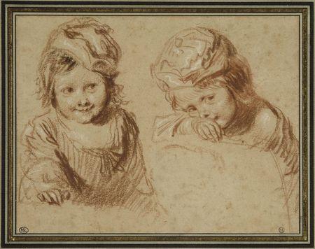 Antoine Watteau, Deux études d'un enfan