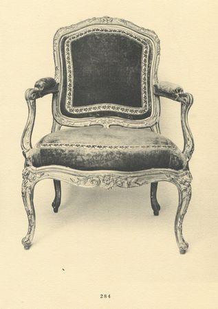Deux fauteuils, collection Jacques Doucet