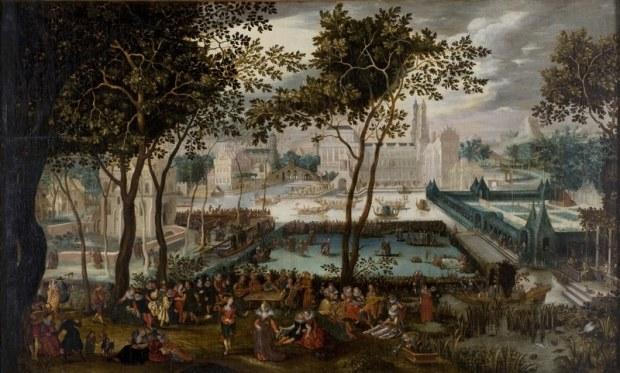 Jardin d'Amour, d'après David Vinckboons