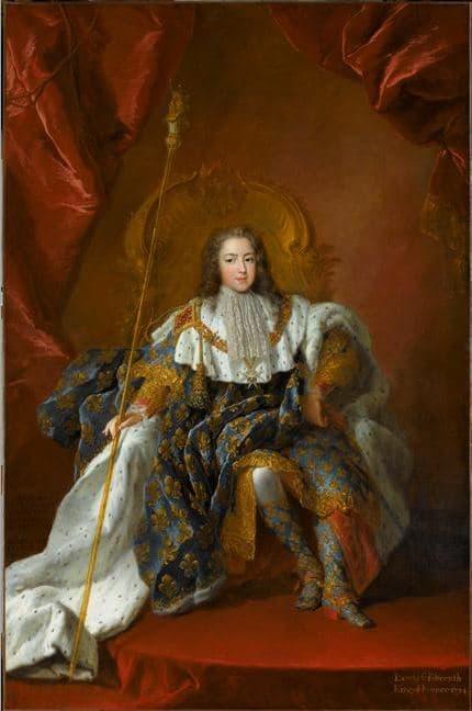Louis XV par Alexis Simon Belle