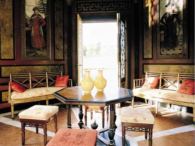 intérieur pagode groussay