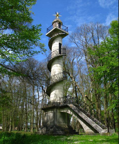 colonne observatoire, parc Groussay