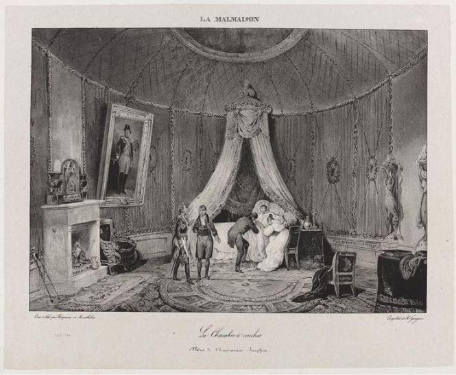 La chambre à coucher. Mort de l'impératrice Joséphine © RMN-Grand Palais (musée des châteaux de Malmaison et de Bois-Préau) / Franck Raux