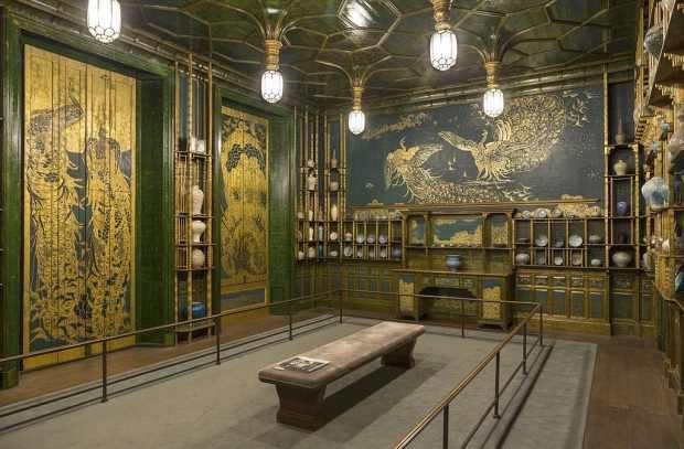 The Peacock Room. (c) Freer Gallery of Art à Washington
