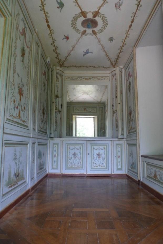 La chaumière aux coquillages. Château de Rambouillet