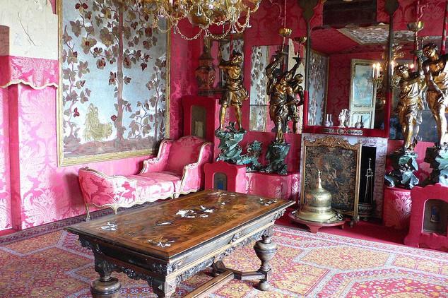 Le salon rouge, Hauteville House