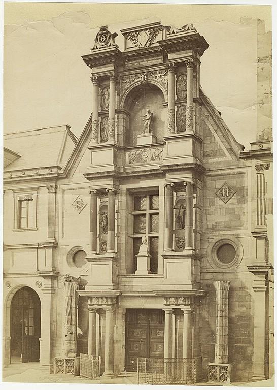 Jean Pierre Philippe Lampué, portail d'anet. ©Musée du Louvre