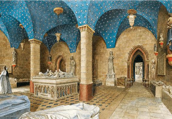 Jean-Lubin Vauzelle, Salle du XIIIe siècle. Département des Arts graphiques, musée du Louvre © RMN-Grand Palais (musée du Louvre) / Tony Querrec.