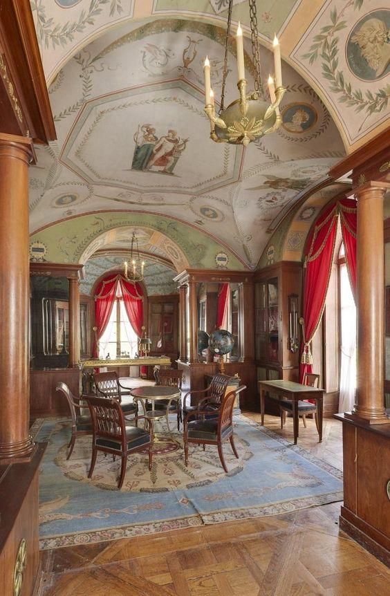 Bibliothèque du château de Malmaison